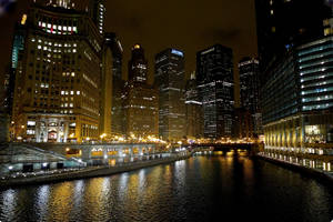 lights of the chicago river 2 by maltedhens
