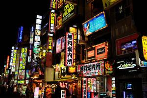 Lights of Shinjuku I by maltedhens