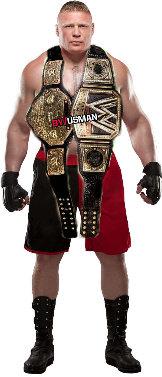 Brock Lesnar WWE WORLD HEAVYWEIGHT CHAMPION by ...
