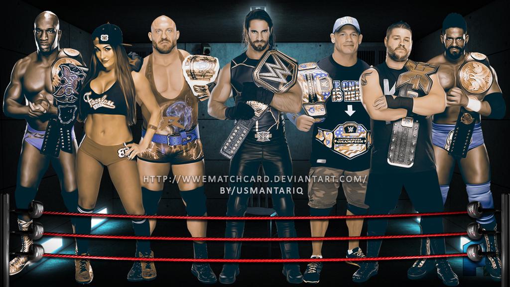 All Wwe Wrestlers 2015
