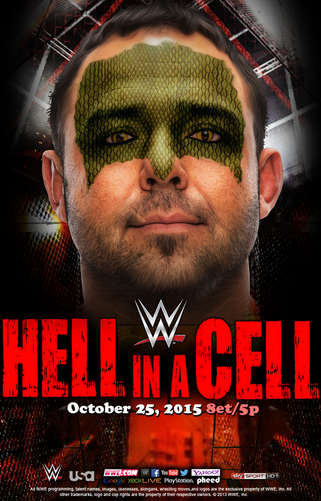 Hell in a Cell 2015 - Santino Marella by WWEMatchCard