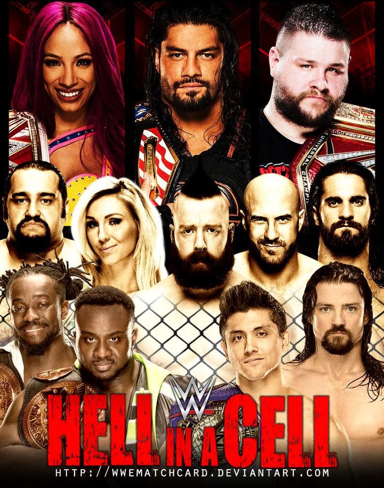 Image result for hell in a cell 2016 poster