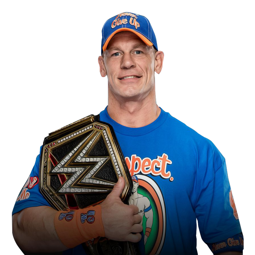 John Cena WWE CHAMPION 2017 v2 by WWEMatchCard on DeviantArt