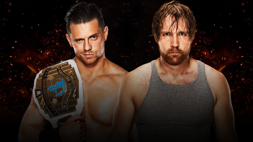 Image result for The Miz and Dean AmbroseGreat Balls of fire