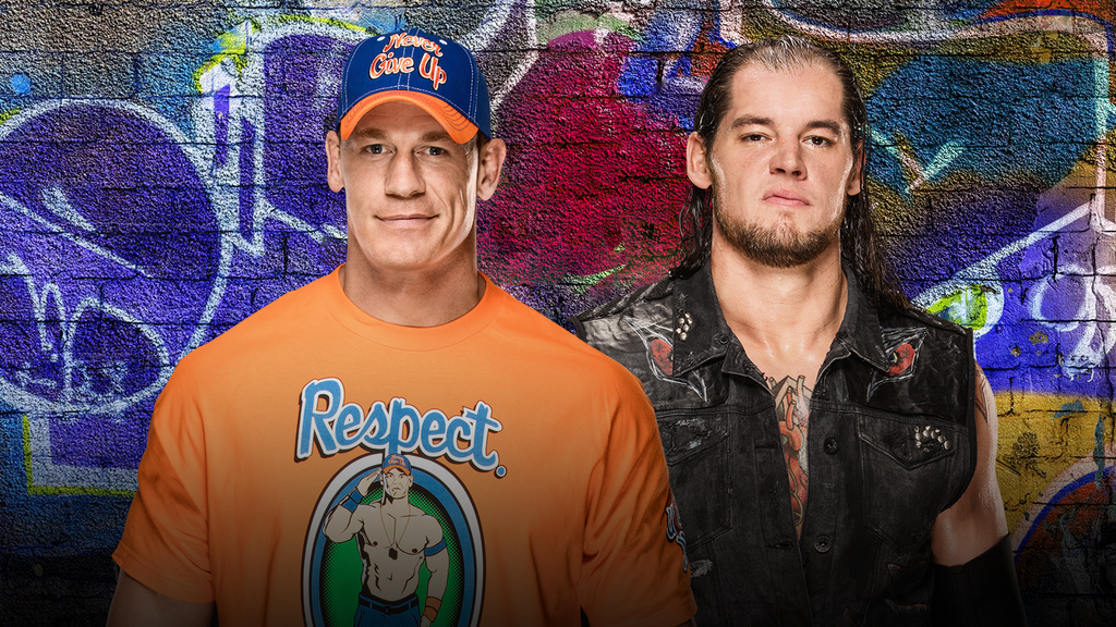 Image result for John Cena vs. Baron corbin summerslam