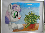 Sweetie and Chlorophytum by LightDragon1988