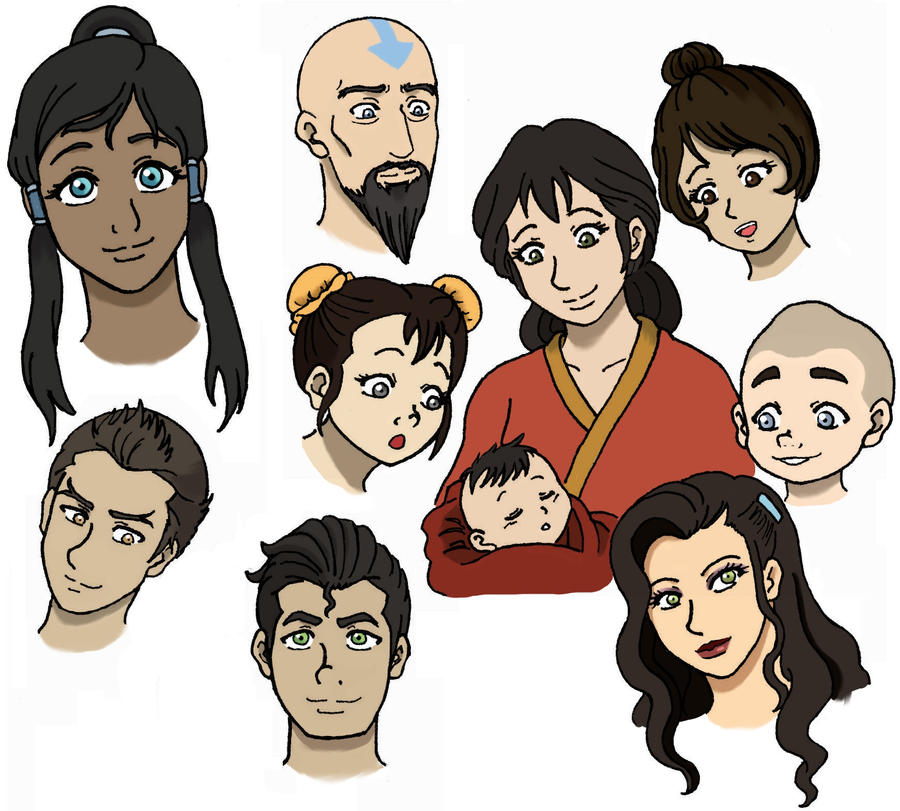 Avatar legend of korra characters by suirenshinju on deviantart avatar legend of korra characters by suirenshinju voltagebd Image collections