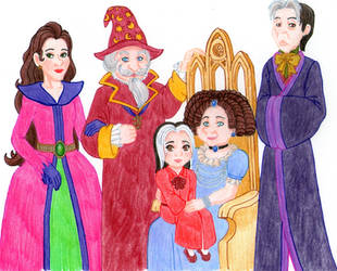 Royal Sorcerer Family by SuirenShinju