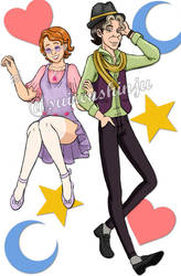 Fashionable Modern Couple by SuirenShinju