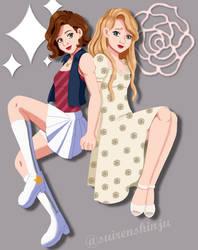 Estella and Marina