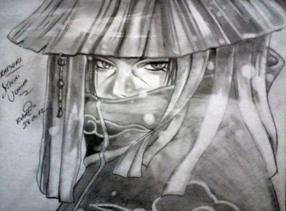 itachi uchiha akatsuki by robert sennin