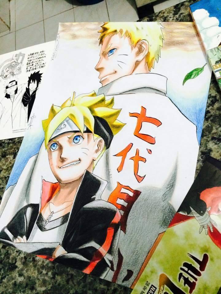 Naruto / Boruto by Robert-Sennin