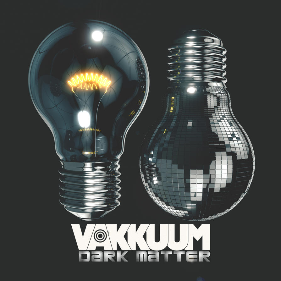 Vakkuum Album Art Dark Matter by Duophonix