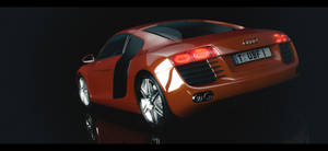 Audi R8 RED by Duophonix