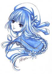 Phthalo Blue by hayashinomura