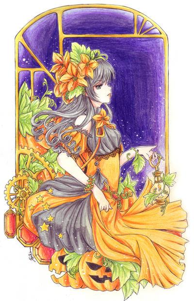 Ms. Pumpkin by hayashinomura