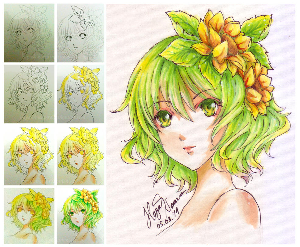 watercolor test by hayashinomura on deviantart