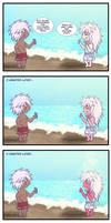 Beach-Badboy-Bakura Minicomic