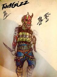 Oni Lee, the Demon (Worm Fanart) by 10gizz