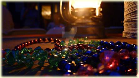 Lantern, Beads