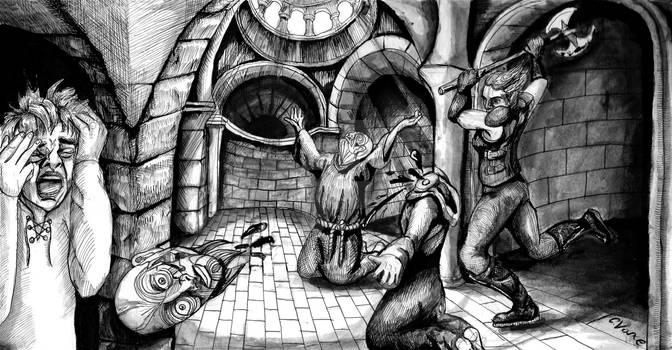 The Mad Priests Bloody Wrath Countess Mekula