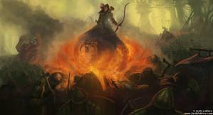 Battle at Monghadi by JordyLakiere