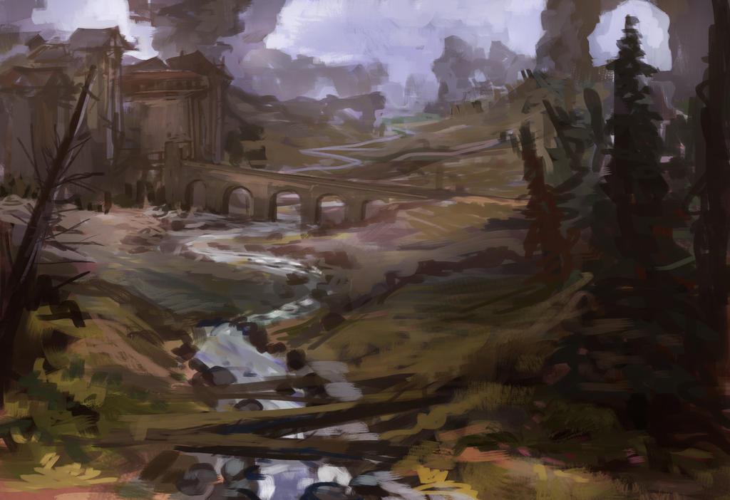 Castle environment #4856 by JordyLakiere