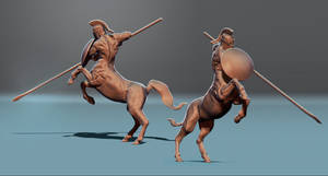 Centaur 3D sculpt