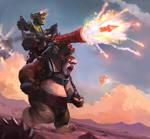 Hobgoblin Cannoneer! (No bg chars version)