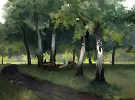 Landscape Master Study by JordyLakiere