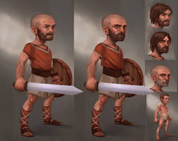 Guy Thing.( P.Ossum Character design.) by JordyLakiere