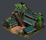Age of Empires 2 Wood Elves Archery Range