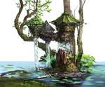 Salamanderkin Wizard's tower