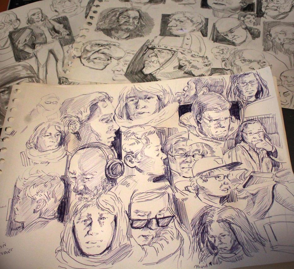 Studies 572 of 1000 by JordyLakiere