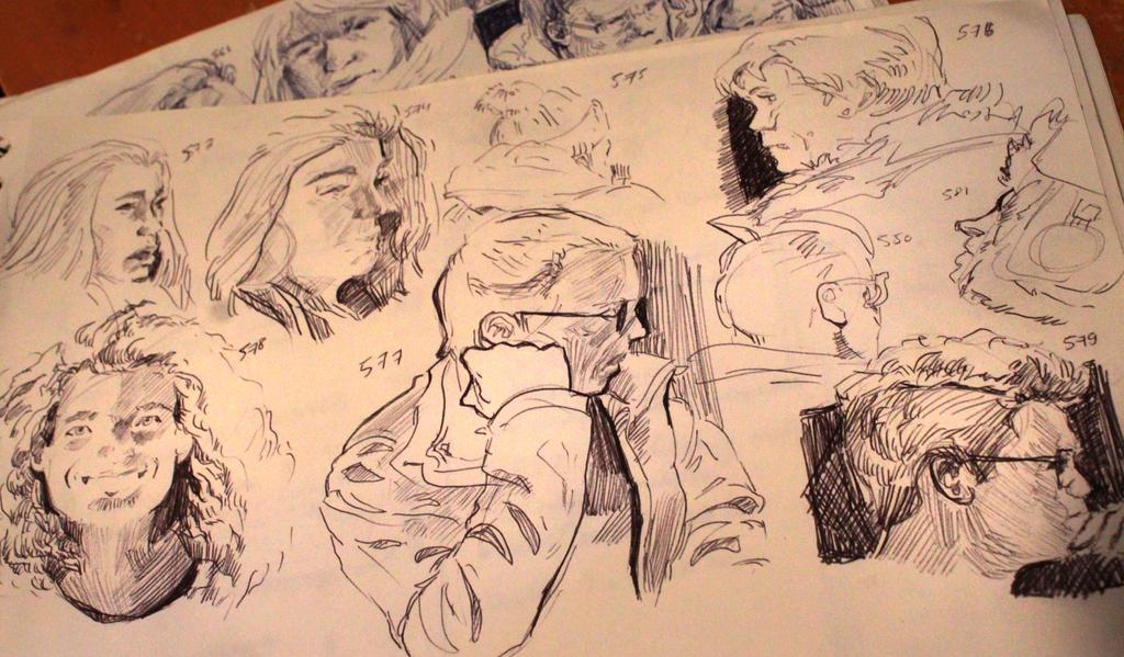 Studies 579 of 1000 by JordyLakiere