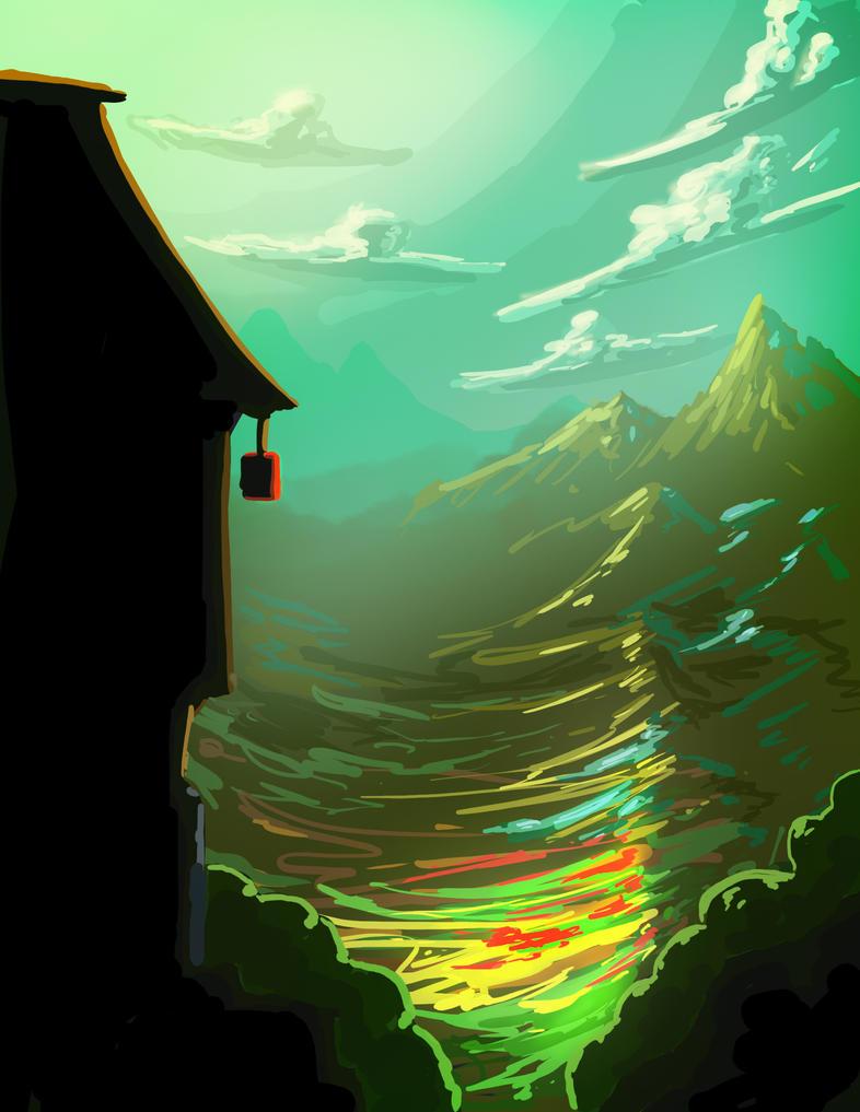 Practice Landscape by NickRileyArt