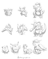 Pokemon 029 - 038