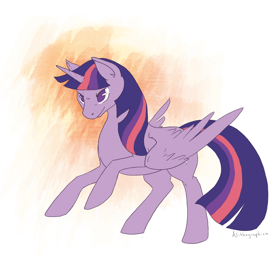 Iiiiit's Twilight Time! by Alithographica