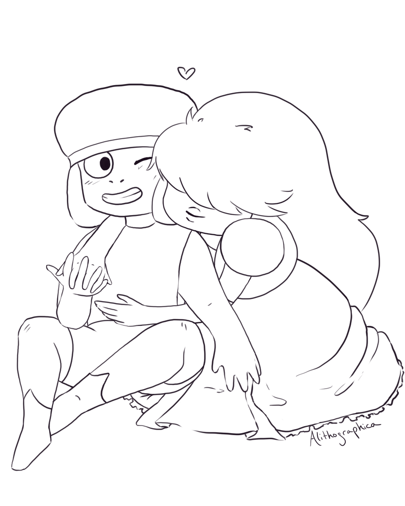 ruby and sapphire by alithographica on deviantart