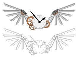 Steampunk Tattoo Design by DemoraFairy