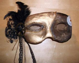 Steampunk Mask by DemoraFairy