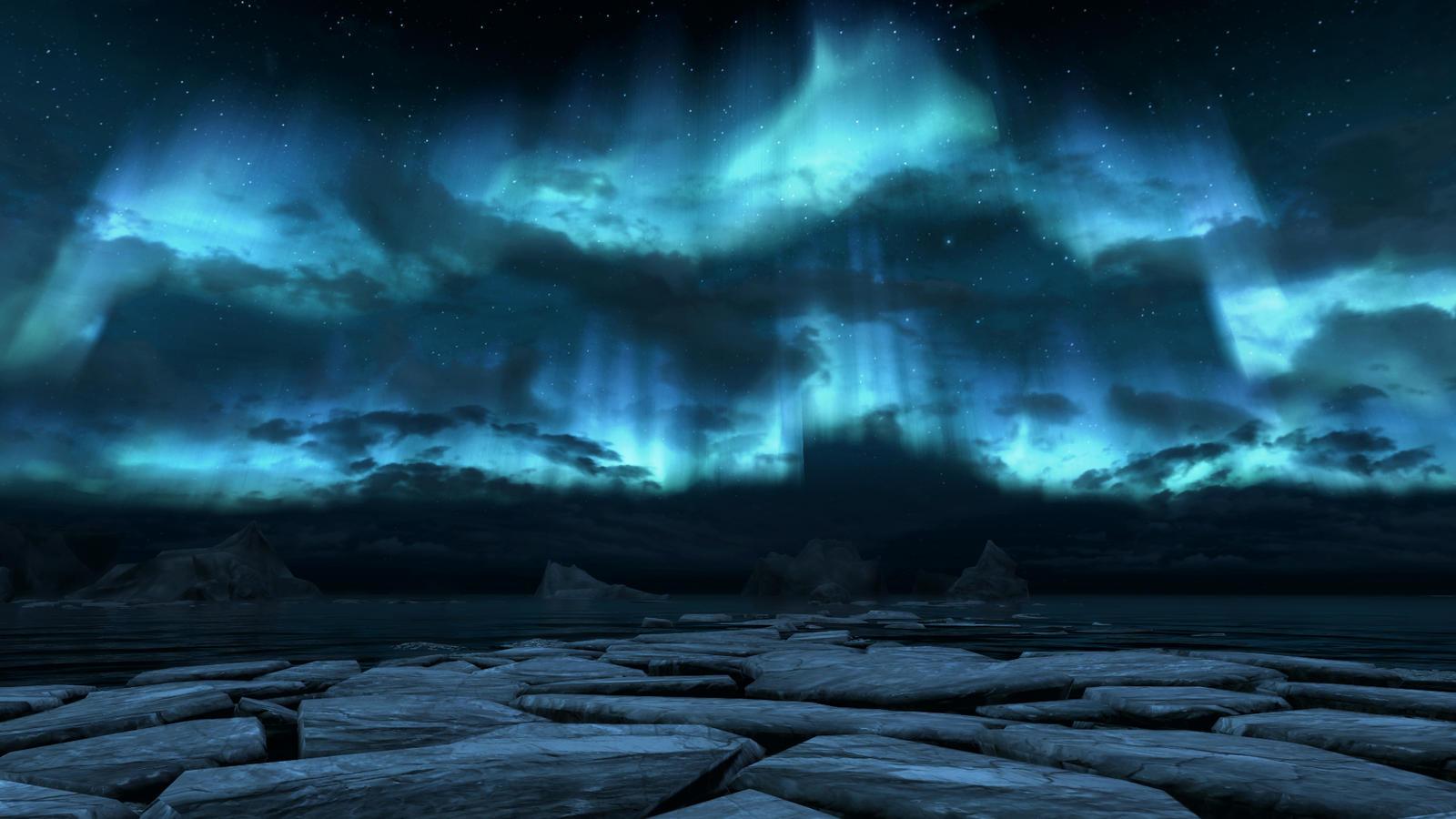 Skryim's Night Sky by DemoraFairy
