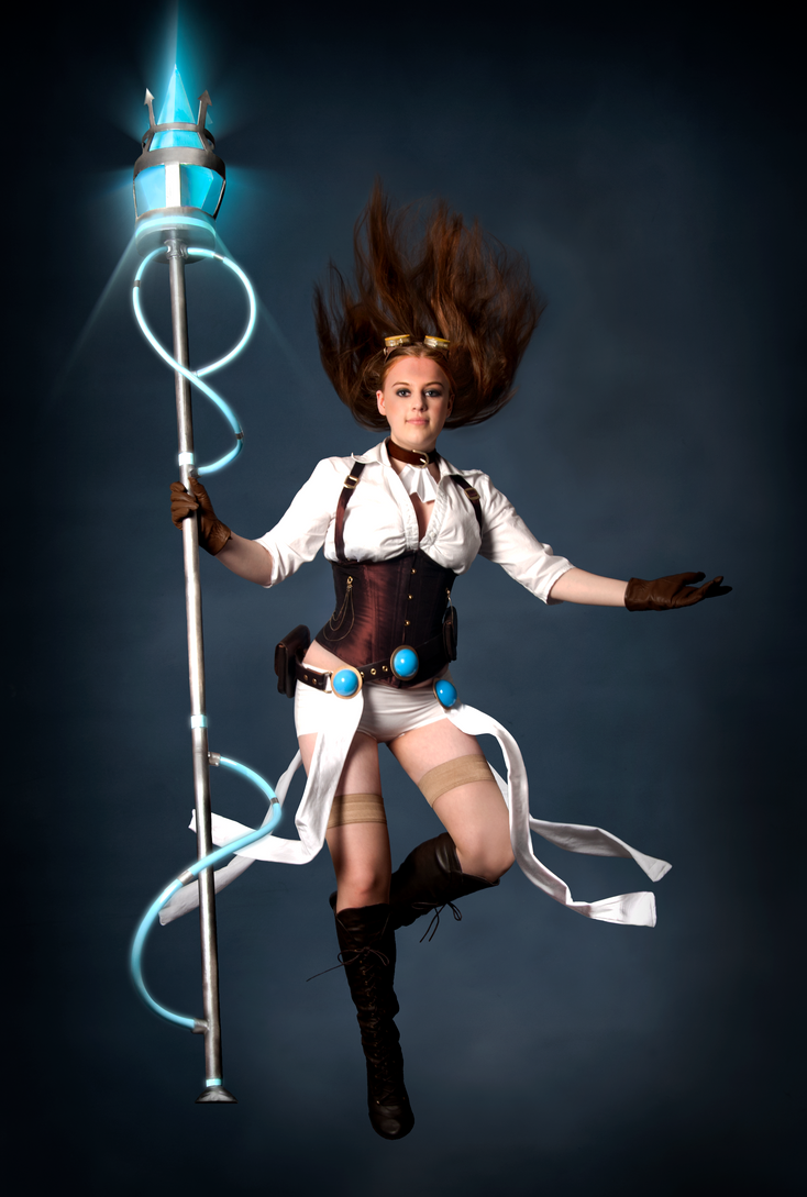 Hextech Janna Cosplay Edited By DemoraFairy On DeviantArt