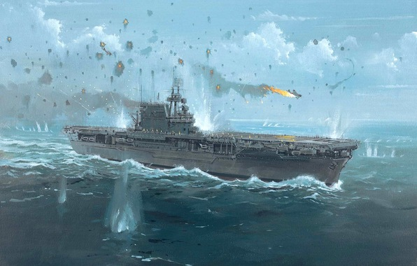 Ww2 Aircraft Carrier Wallpaper