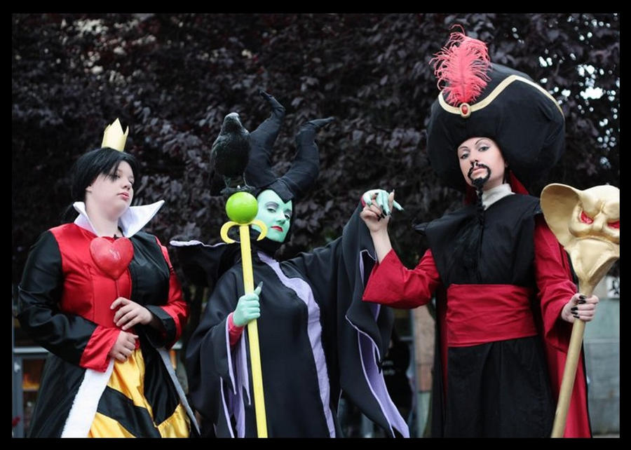 Disney - Villains .. by NikkouChan