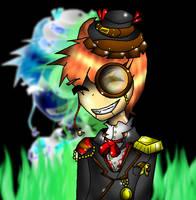 Steampunk Slappy by sorrowscall