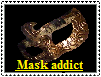 Mask Addict Stamp by sorrowscall