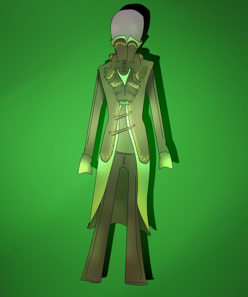 Green Menswear Contest Entry 1 by sorrowscall