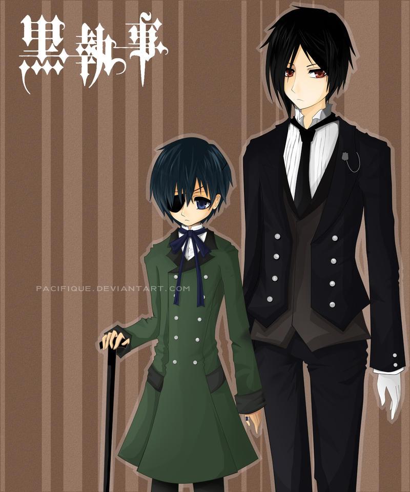 Kuroshitsuji: Ciel n Sebastian by pacifique