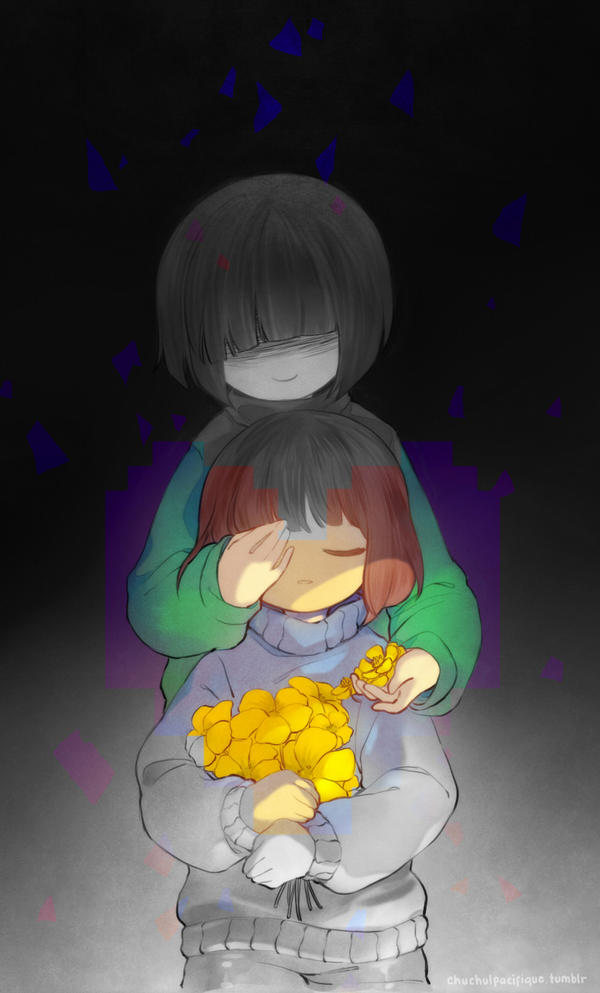 Undertale: Buttercups Among Your Golden Flowers by pacifique